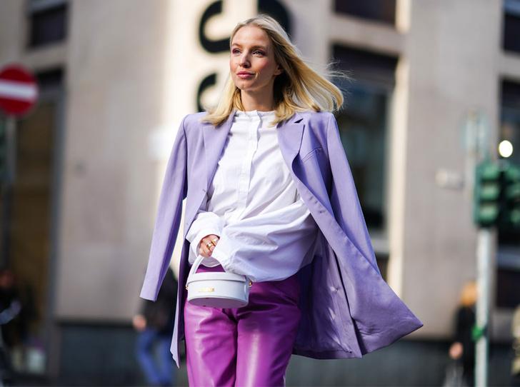 Фото №1 - Горная лаванда: 5 способов носить самый романтичный цвет