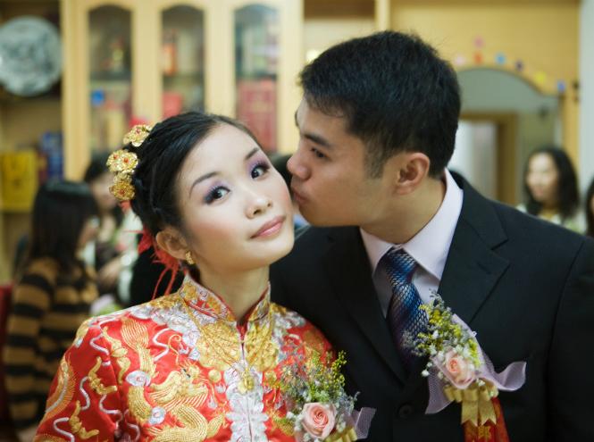 Фото №2 - Удивили: самые необычные свадебные традиции мира