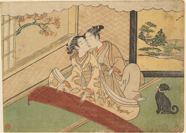 Фото №2 - Удивительные секс-традиции Древней Японии