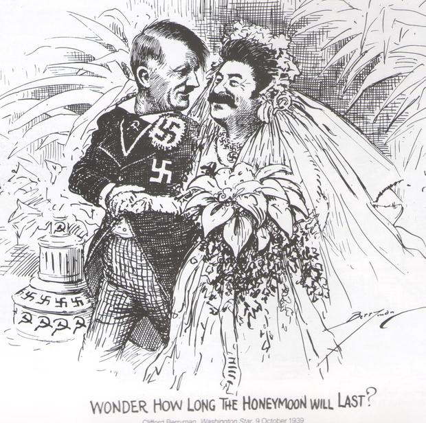 Фото №3 - Книжный магазин вернул издательству исторический журнал из-за карикатуры со Сталиным и Гитлером