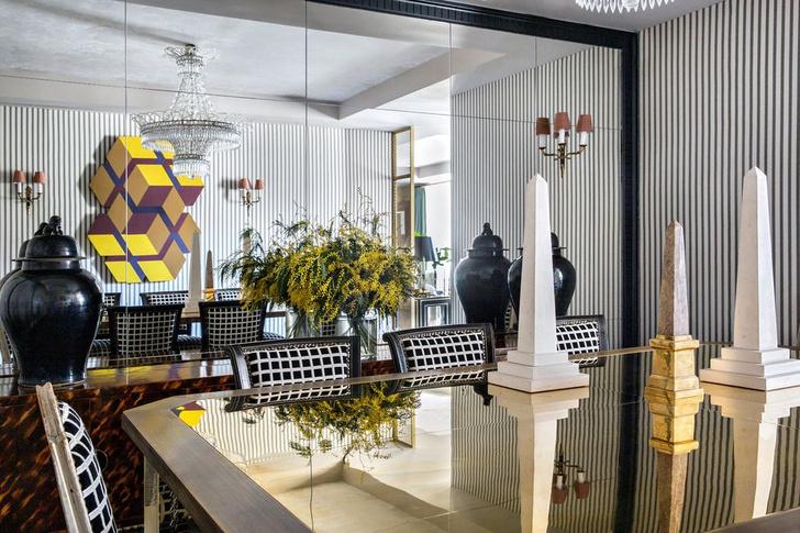 Фото №7 - Эклектичная квартира с антиквариатом в Мадриде
