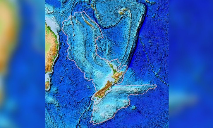 Фото №1 - В Тихом океане обнаружены следы затерянного континента