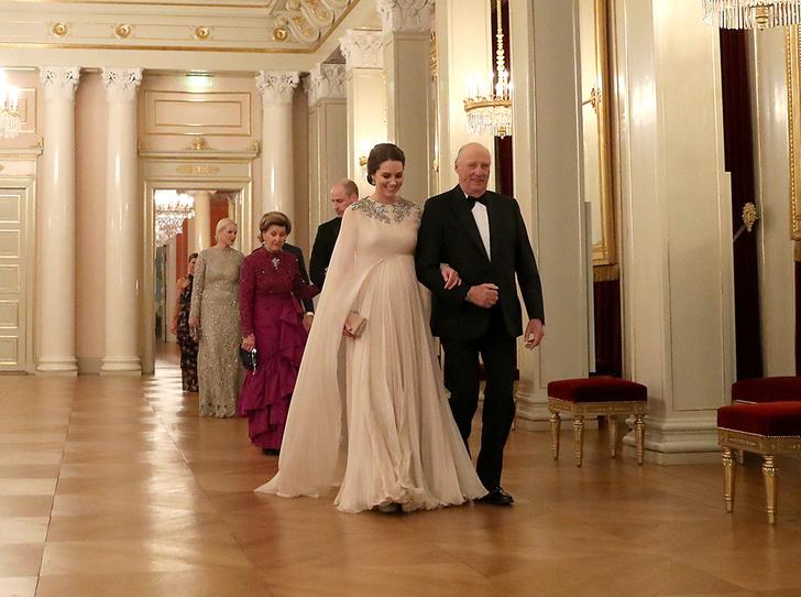 Фото №21 - Кейт Миддлтон и принц Уильям в Норвегии: день первый