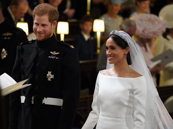 Фото №52 - Свадьба Меган Маркл и принца Гарри: как это было (видео, фото, комментарии)