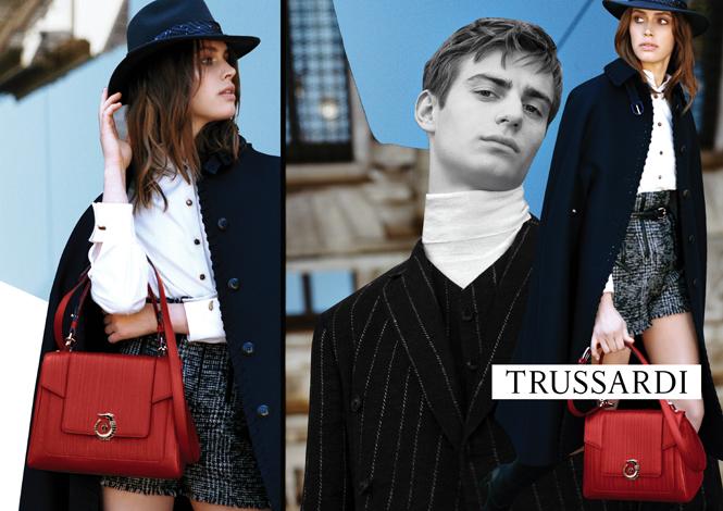 Фото №3 - Модные коллажи в новой кампании Trussardi осень-зима 16/17
