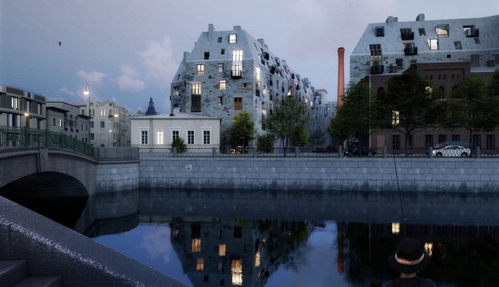 Фото №5 - Итоги архитектурного конкурса «Золотой Трезини» 2020