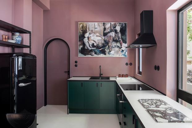Фото №6 - Дизайнерский гостевой дом в Афинах