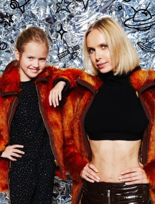 Фото №2 - Звездные мамы и дети в лукбуке H&M Studio Kids