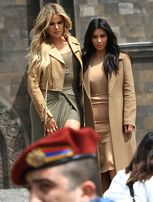 Фото №3 - Ким Кардашьян в Армении