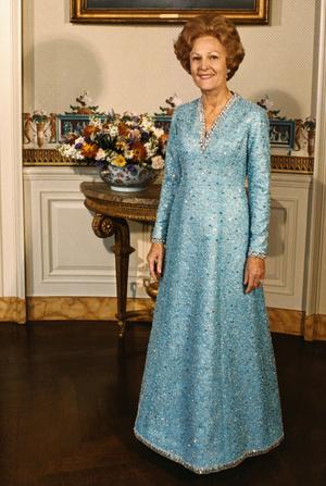 Фото №9 - Королевы Белого дома: самые роскошные инаугурационные платья Первых леди