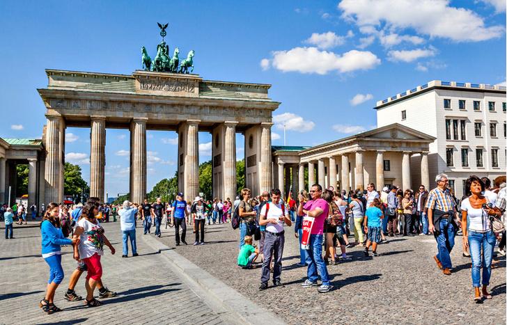 Фото №3 - Бранденбургские ворота: история в трех изображениях