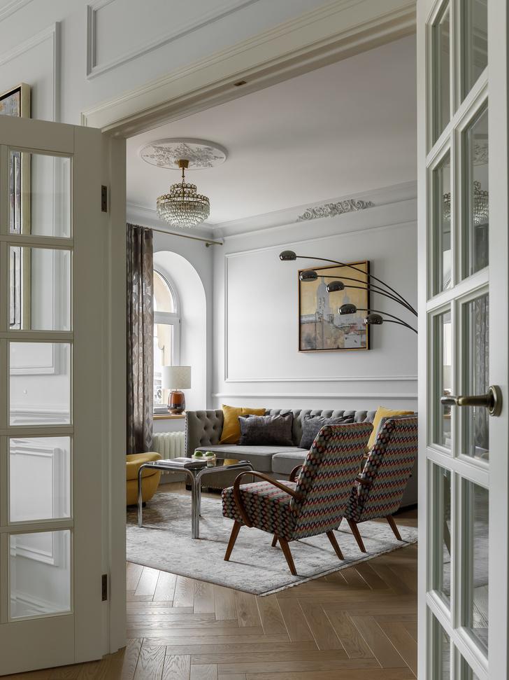 Фото №4 - Атмосферная квартира в доходном доме XIX века в Санкт-Петербурге