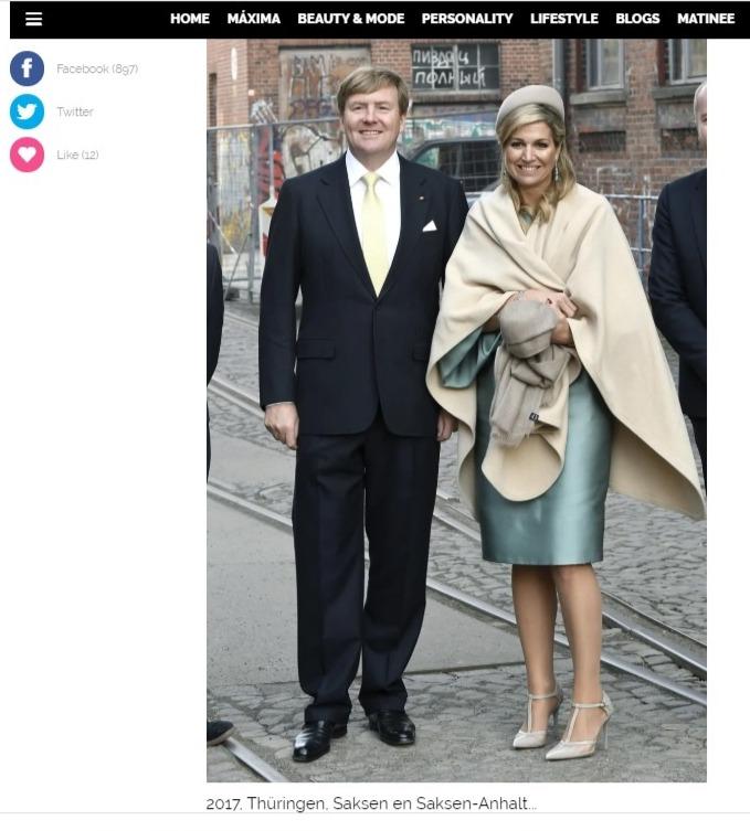 Фото №1 - На фото в статье о королевской чете Нидерландов разглядели русский матерный след