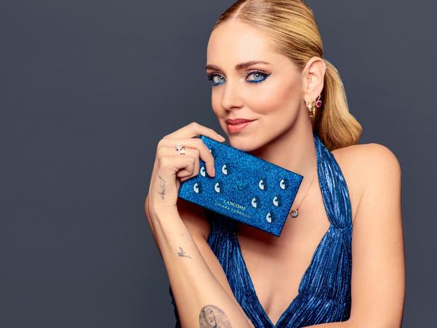Фото №1 - Эти голубые глазки: новая коллекция макияжа Lancôme х CHIARA FERRAGNI