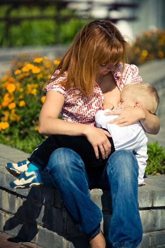 Фото №1 - Идем гулять с малышом!