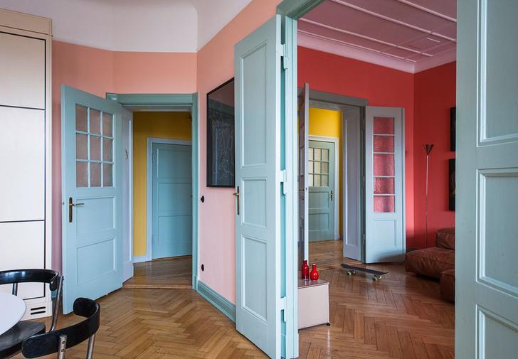 Фото №8 - Маленькая квартира с ярким характером в Берлине