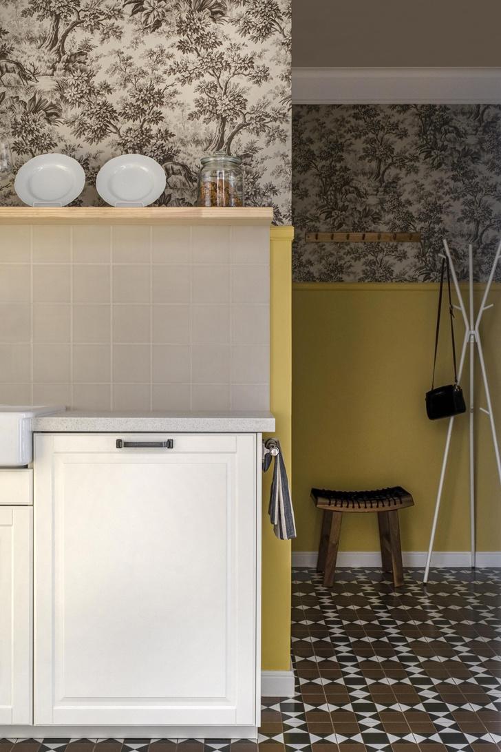 Фото №1 - Двухкомнатная квартира 37 м² с кухней в коридоре
