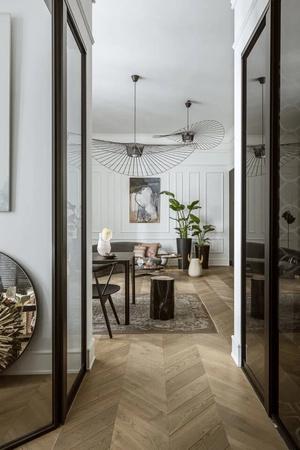 Фото №3 - Элегантная небрежность: квартира 54 м² в Варшаве