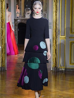 Фото №37 - Неделя Высокой моды в Париже: Ulyana Sergeenko Couture F2015