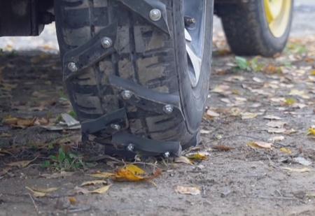 Колеса-вездеходы для автомобиля своими руками (видео с инструкцией)