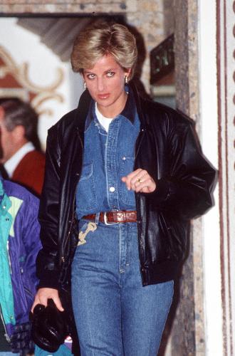 Фото №2 - Принцесса в джинсах: как Диана носила деним