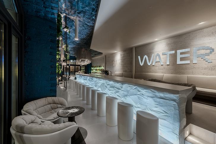 Фото №1 - Концептуальный бар Water в Москве