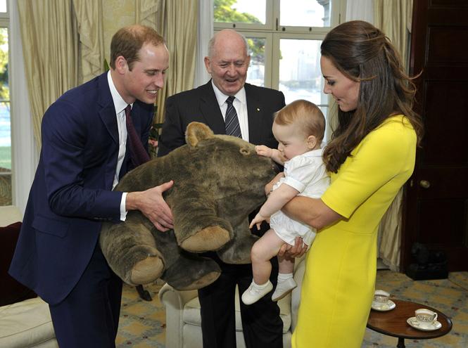 Фото №17 - Принц Джордж Кембриджский: три года в фотографиях
