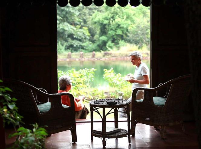 Фото №3 - Курорт SwaSwara: Трудно быть йогом