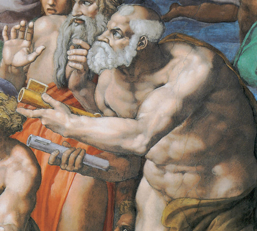 Фото №6 - Обидеть художника: 7 тайн «Страшного суда» Микеланджело