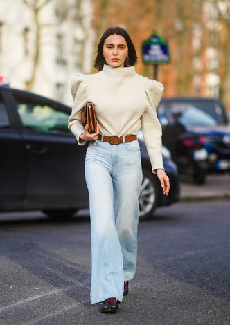 Фото №2 - Гайд: сочетаем джинсы с обувью в холодное время года
