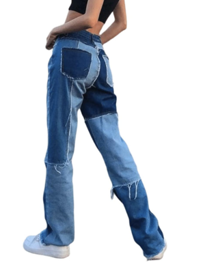 Фото №1 - Самые необычные и модные джинсы, которые удивят всех твоих подружек (и где их купить)