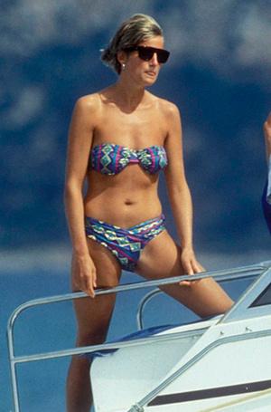 Фото №21 - Принцесса пляжа: бикини-стиль Дианы