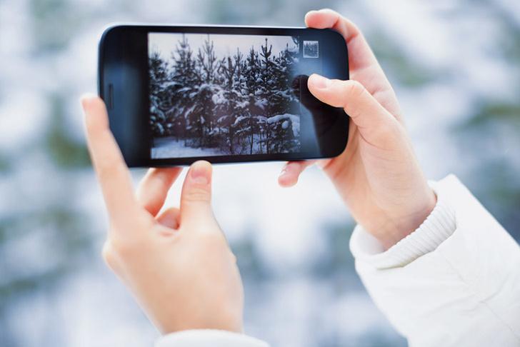 Фото №1 - Зимние правила пользования смартфонами