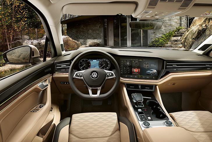 Фото №2 - Volkswagen Touareg: преодолевая зиму