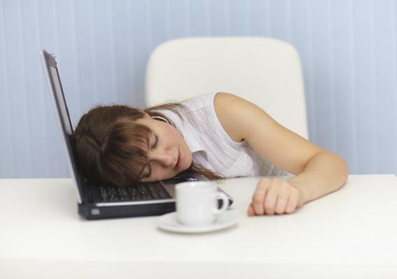 Хроническое недосыпание.