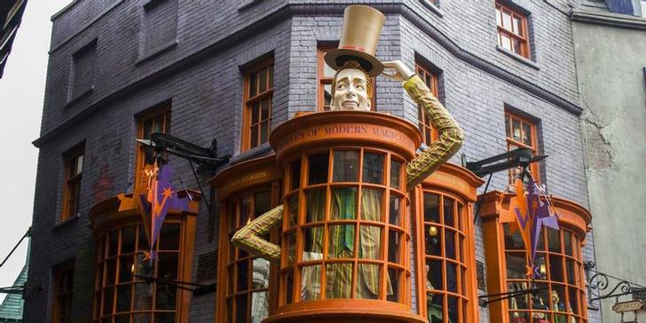 Фото №2 - «Гарри Поттер»: 10 моментов Косого переулка, которые так и не показали в фильмах