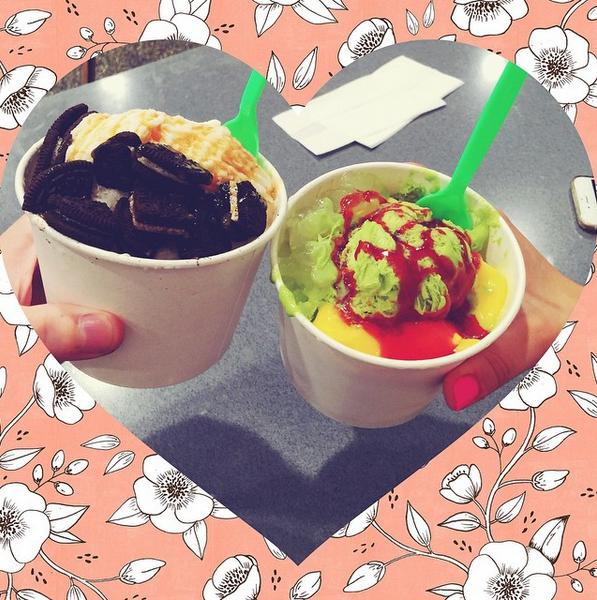Фото №7 - Звездный Instagram: Знаменитости едят мороженку