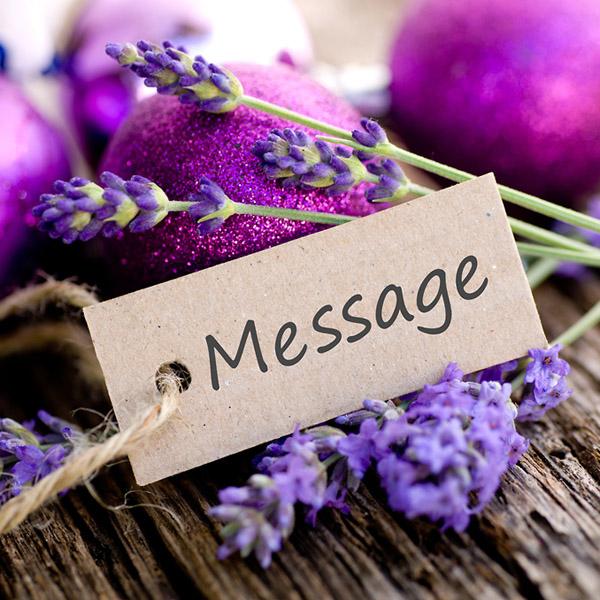 Фото №1 - SMS с запахом лаванды