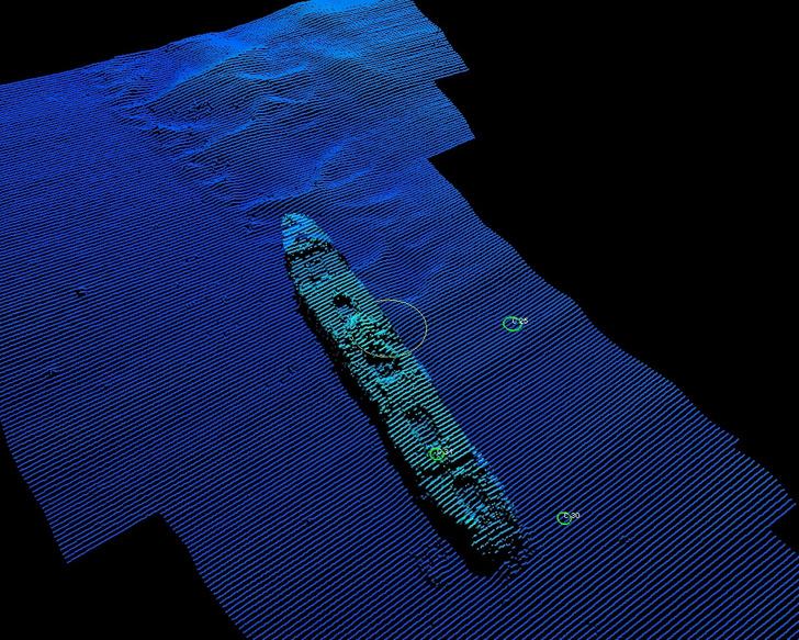 Фото №1 - В Белом море обнаружены затонувшие корабли Первой мировой