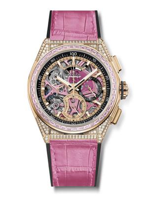 Фото №2 - В розовом цвете: Zenith представил новинку Defy 21 Pink Edition