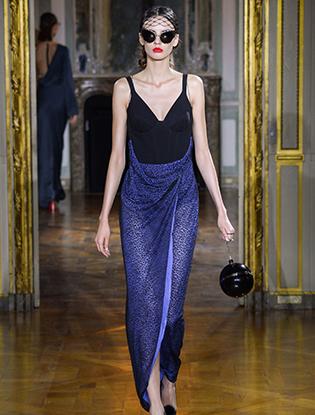 Фото №29 - Неделя Высокой моды в Париже: Ulyana Sergeenko Couture F2015