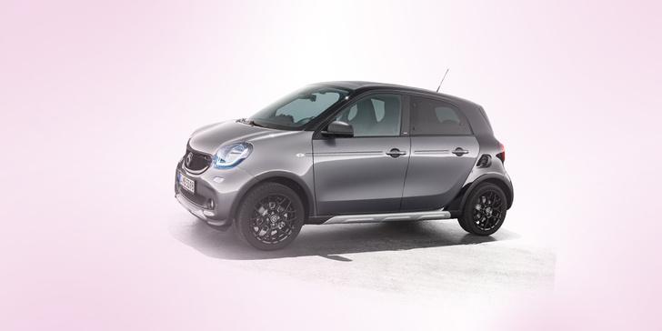 Фото №1 - Новая маленькая машина: Smart Forfour Crosstown