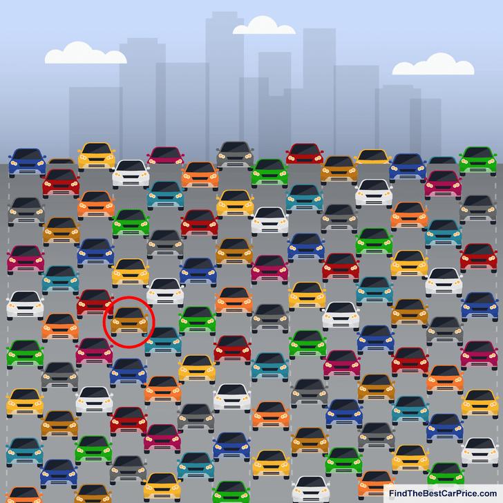 Фото №5 - Тест только для внимательных автолюбителей: найди машину без бокового зеркала