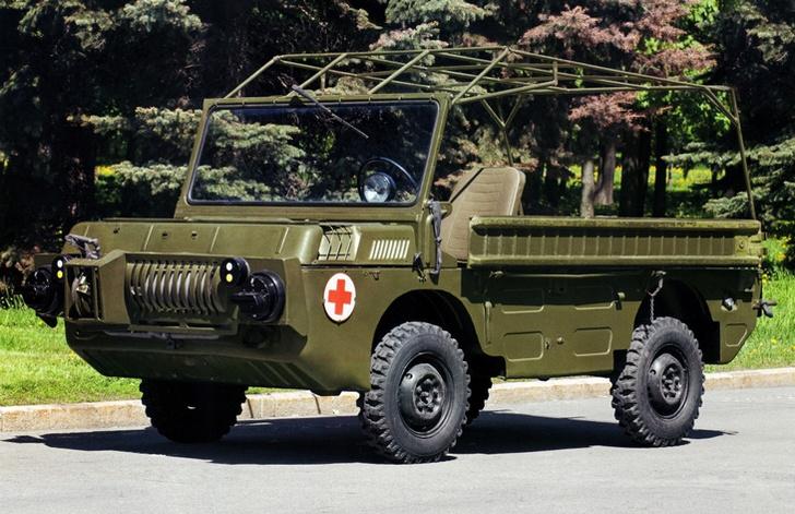 Фото №4 - Советский автомобиль для управления из положения лежа