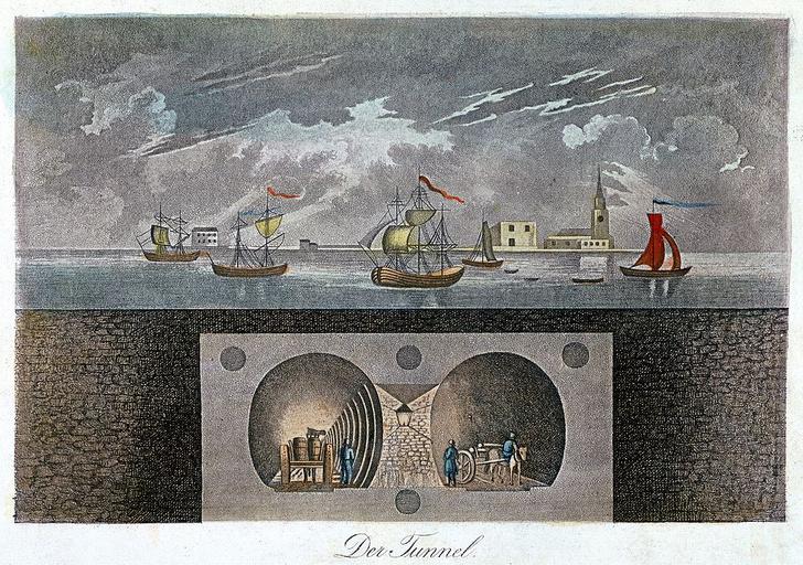 Фото №4 - Тоннель под Темзой: драматическая история строительства первого в мире тоннеля под рекой