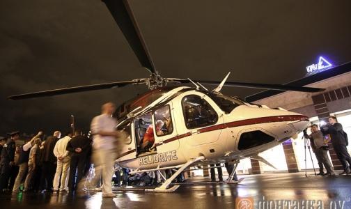 Фото №1 - Врачи госпитализировали «пострадавших» в учениях в петербургском метро на вертолете