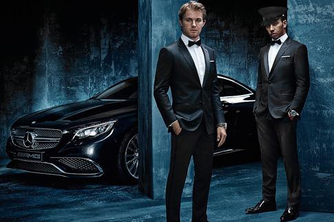 Фото №1 - Начало истории: сотрудничество Hugo Boss и Mercedes Amg Petronas