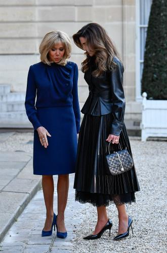 Фото №5 - Рания в Париже: как Брижит Макрон принимала королеву Иордании
