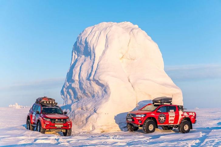 Фото №3 - На автомобилях к Новосибирским островам по Северному Ледовитому океану