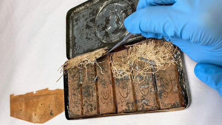 Фото №1 - В Австралии нашли коробку конфет, которым более ста лет